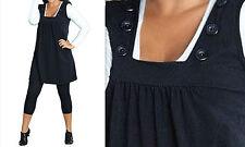 Ärmellose knielange Damenkleider aus Baumwollmischung für die Freizeit