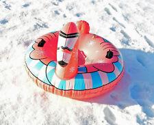 Winterlicher Rutsch/Schwimmreifen  im Flamingo Design aufblasbar