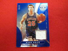 2012 Totally Certified Mark Price  game used jersey card Cavs   blue 10 / 99