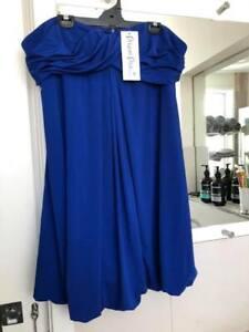 BNWT Chic Dream Diva Cobalt Blue Bubble City Dress Plus Size 20