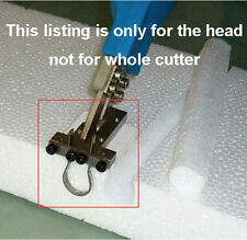 Slide Tip for electric Hot Knife Foam Cutter, Grooving Cutting Tool, ONLY head.