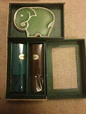 Beautiful Elephant Incense Gift Set Incense Stocks Jasmin Sandalwood And Holder