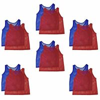 YOUTH Practice Mesh Scrimmage Pinnies  Jerseys Training Sports Vest Soccer
