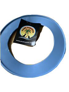 Blue Small Durable PVC   Fling A Ring - Frisbee . Blue Dog Puppy Toy
