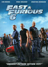Fast & Furious 6 DVD, Dwayne Johnson, Paul Walker, Vin Diesel, Justin Lin