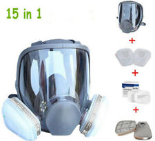 15in1 Suit Full Face For 6800 Gas mask Facepiece Respirator Painting Spraying