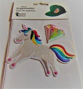 Embroidery Applique Patch Sew Iron Badge......Unicorn (Iron On)