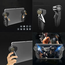 For iPad Tablet PUBG Game Joystick Handle Controller Six Finger Trigger L+R Set