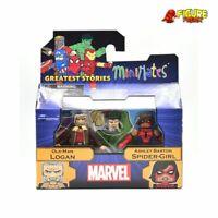 Marvel Minimates Series 74 Old Man Logan & Ashley Barton Spider-Girl
