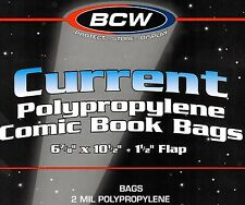50 Assembled Current Comic Bags and Boards - NEW