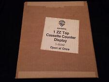 ZZ TOP AFTERBURNER USA ORIGINAL OFFICIAL CASSETTE STORE COUNTER DISPLAY 1985