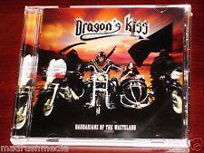 Dragon's Kiss: Barbarians Of The Wasteland CD 2014 Killer Metal Recs Germany NEW