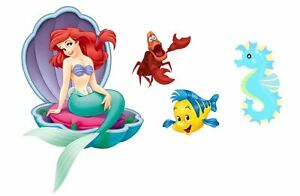 Ariel The Little Mermaid Edible Cake Decor Wafer / Icing