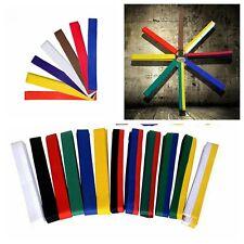 Taekwondo Belt Karate Double Wrap Belt Professional All Colors Martial Arts