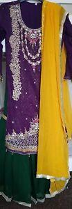Indian pakistani bridal wedding dress