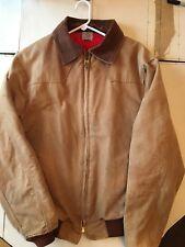 CARHARTT Mens Work Jacket Coat. Quilt Lined. Size Large.