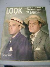 LOOK MAGAZINE DECEMBER 23 1947 CROSBY HOPE RIO ALL AMERICAN FOOTBALL TEAM