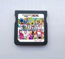 520 Games in 1 NDS Game Pack Card Super Combo Cartridge for DS 2DS New 3DS XL