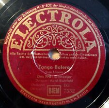 "FFB Orchester - Tango Bolero - Der Reigen - Electrola - /10"" 78 RPM"