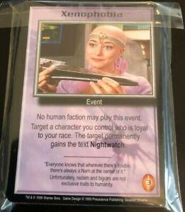 Babylon 5 CCG Severed Dreams Common Card Set