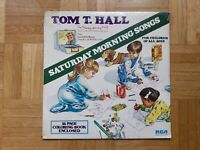 Tom T. Hall – Saturday Morning Songs ( SEALED incl booklet ) lp