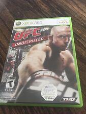 UFC 2009 Undisputed (Microsoft Xbox 360, 2009) XG2
