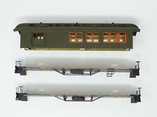HO Scale Lot of Fujiyama BRASS Passenger Car Parts & Details - Custom