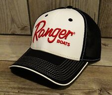 New ListingRanger Boats Black Red & White Fishing Hat Cap Rb2112 Nwt