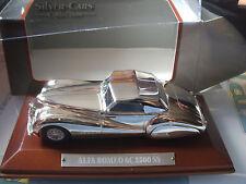 Silver Cars  Alfa Romeo 6C 2500 SS 1:43