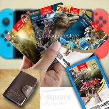 18 Cards /Lot Amiibo NFC TAG BOTW OOT SSB Legend Of Zelda WOLF LINK 20❤ + Holder
