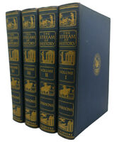 Geoffrey Parsons THE STREAM OF HISTORY, VOL. 1 - 4  1st Edition 1st Printing