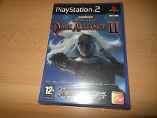 PLAYSTATION 2 PS2  BALDUR'S GATE II DARK ALLIANCE  . new & sealed uk pal