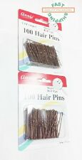 "Annie Hair Pins 100 Count 1-3/4"" crimped Lot of 2 Packs  FAST SHIPPING !!!"