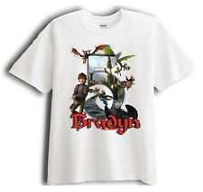 How to Train Your Dragon Personalized - Birthday T-Shirt Party Favor