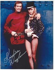 Roger Moore & Kristina Wayborn signed 8x10 Photo -  Proof - 007 James Bond