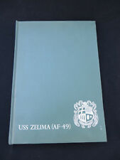 1966 US Navy USS Zelima (AF-49) Cruise Book RARE