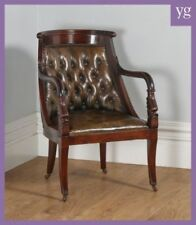 Mahogany Armchairs Regency Antique Chairs