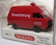 Wiking 1:87 VW T3 Transporter Hochach OVP 0601 21 Feuerwehr Einsatzleitung