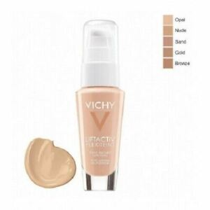 Vichy Liftactiv Flexiteint Foundations SPF20 30ml 15-25-35-45 (choose option)
