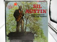 Sil Austin Plays Pretty for the People LP Mercury Rec SR-60096 Shrink VG+ c VG++