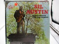 Sil Austin Plays Pretty for the People LP Mercury Rec SR-60096 Shrink VG+ c VG++