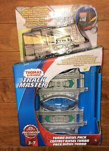 2018 Fisher-Price Thomas and Friends Trackmaster Turbo Diesel Pack Train New