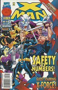 X-Man Comic 18 Cover A Steve Skroce First Print 1996 Kavanagh Larosa Hunter