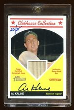 2008 TOPPS HERITAGE AL KALINE AUTOGRAPH BAT /25 MINT CLUBHOUSE COLLECTION