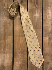 Vintage Disney Mickey Mouse Gold Necktie Tie Mickey Unlimited