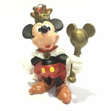 Disney Japan Vintage Mickey & Minnie Mouse Mini Figure Keychain Toy