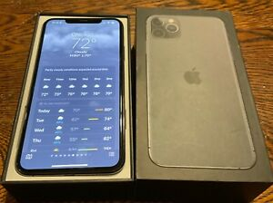 Apple iPhone 11 Pro Max - 256GB - Space Gray Used A2161 Great condition w/ box!