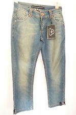 PSYCHO COWBOY LADIES USED LOOK CROPPED JEANS   W29    £70   BNWT