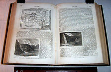 1845 North & South America  500 Engravings  American West Indians Texas Polar