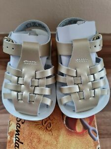 Baby Girls Saltwater Sandals Infant Size 2